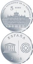 """II Serie """"Ciudades Españolas Patrimonio de la Humanidad"""" en 5 euros plata"""