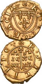 Múltiple de 10 Tari de Carlos I D'Anjou en la subasta de Hervera, Soler&Llach