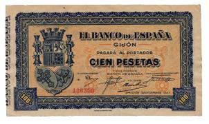 100 Pesetas Consejo de Asturias y León