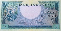 "Indonesia 1957 Rupias de la Serie ""Animales autóctonos"""