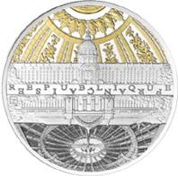 Plata, oro y rodio negro para monumentos parisinos de las orillas del Sena