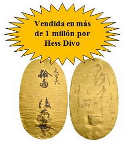 Más de 1 millón de euros por una moneda de oro japonesa subastada por Hess Divo
