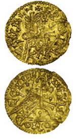 Moneda bizantina inédita y otras rarísimas en la Subasta de José A. Herrero