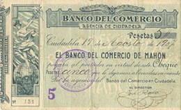 Emisiones de los Bancos Menorquines