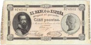 Espectacular subasta rápida de billetes de Cayón