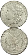Dólar Morgan, la moneda americana más conocida en el mundo, a la que da nombre un inglés