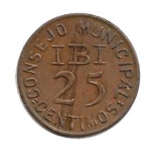25 céntimos de Ibi, Alicante