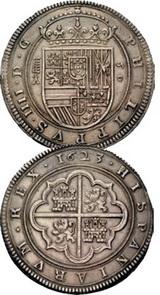 Cayón y la antigua Ceca de Segovia: XIII Cincuentines de Felipe III y Felipe IV a puja