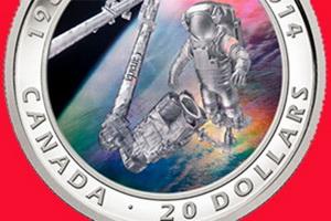25 Aniversario de la Agencia Espacial Canadiense en 3D