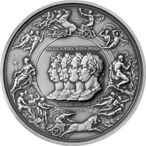 """La """"Medalla de Waterloo"""" de Pistrucci, doscientos años después"""