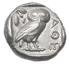 La Mitología y la Moneda: Atenas