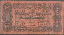 1 Dólar de 1921de la colonia británica Straits Settlements