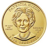 "Pat Nixon en la Serie ""Primeras Damas"" de la US Mint"