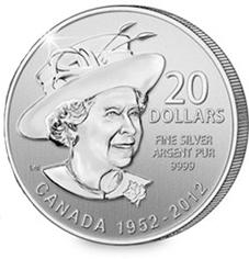 Las dos caras de la reina Isabel II en 20 dólares canadienses
