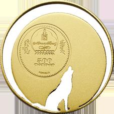 """La innovadora moneda del """"Lobo de Mongolia"""""""
