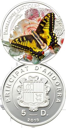 Andorra y las mariposas exóticas en 3D