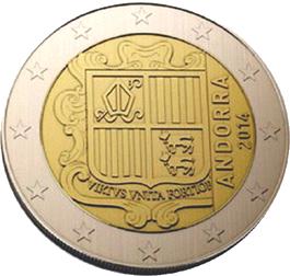 Elegidos oficialmente los diseños para los futuros euros de Andorra