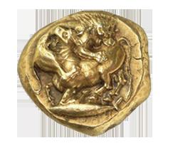 Arte griego en las monedas