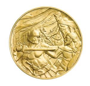 "La ""Leyenda de Arturo"", obra maestra de la Royal Mint en oro y plata"
