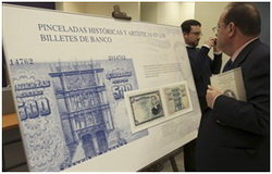 """Del real al euro pasando por la peseta"" en Soria"