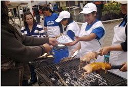 En Sinincay, Ecuador, utilizan billetes UDIS