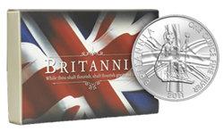 Britannia, símbolo de una Nación