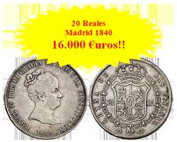Gran éxito y fuertes pujas para la colección de  Isabel II