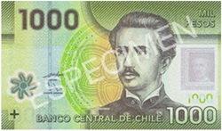 El nuevo billete chileno de 1.000 pesos entrará en circulación el 11 de mayo