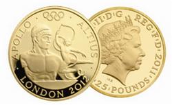 """Altius"": II Serie Oro Juego Olímpicos Londres 2012"