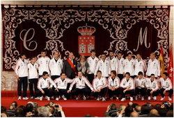 Medalla de Oro de la Comunidad de Madrid a la Selección Española de Fútbol
