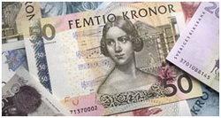 Suecia, tendrá nueva familia de billetes