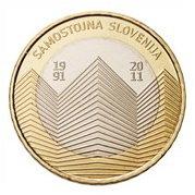 20 Aniversario de la Independencia eslovena