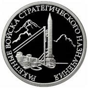 Misiles nucleares rusos en plata