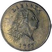 Subastado 1 centavo de 1793 en 47.000 euros