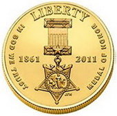 Oro y plata para la Medalla del Honor estadounidense