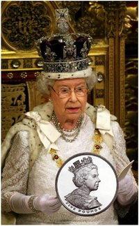 Las coronas británicas cambiarán su imagen