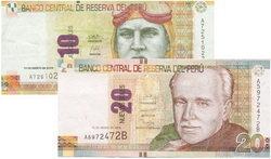 Entran en circulación los nuevos billetes de 20 y 20 nuevos soles