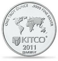 Kitco comercializa onzas de plata propias