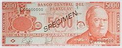 Los nuevos billetes de 5.000 y 10.000 guaraníes circularán a fin de mes