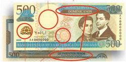"""Ahora los billetes se denominan """"pesos dominicanos"""""""