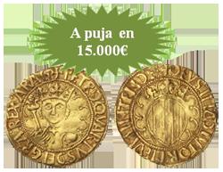 Extraordinarias y rarísimas monedas de oro y plata en Hervera&Soler y Llach y Segarra