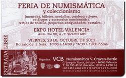 Convención Numismática de V. Craven