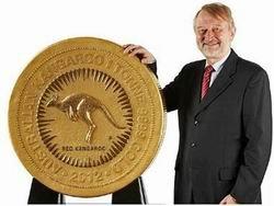 The Perth Mint optimista ante el precio del oro