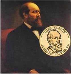 James A. Garfield, dólar presidencial