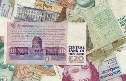 Irlanda no está imprimiendo billetes de la antigua libra