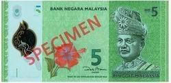 Nueva serie de billetes malayos