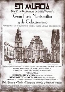 Murcia acoge de nuevo la Convención Numismática de Miró-Saetabis