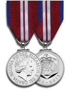 Medalla oficial del Jubileo de Diamante