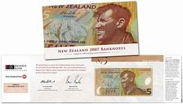 Set de billetes neozelandeses para coleccionistas