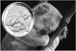 Bullion australiano 2012: Koala de plata